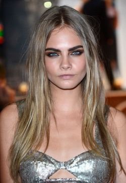"""Model Cara Delevingne at """" Anna Karenina """" World Premiere at Odeon West End on Tuesday September 04, 2012 in London."""