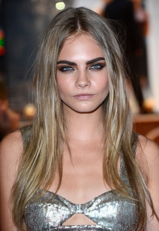 "Model Cara Delevingne at "" Anna Karenina "" World Premiere at Odeon West End on Tuesday September 04, 2012 in London."