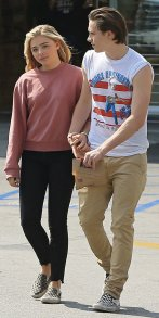 Exclusive... 52064477 Chloe Moretz and Brooklyn Beckham were seen holding hands as they were leaving a Rite Aid in Beverly Hills California on May 19, 2016. The couple wore matching shoes as they shared a laugh and held hands on the way out of the pharmacy. ***NO WEB USE W/O PRIOR AGREEMENT - CALL FOR PRICING*** FameFlynet, Inc - Beverly Hills, CA, USA - +1 (310) 505-9876
